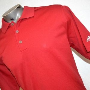 1877 Mens Adidas Golf Polo Shirt Polyester Size